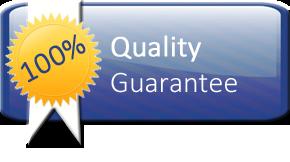 100% Quality Quarantee