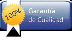 100% Garantía de Cualidad
